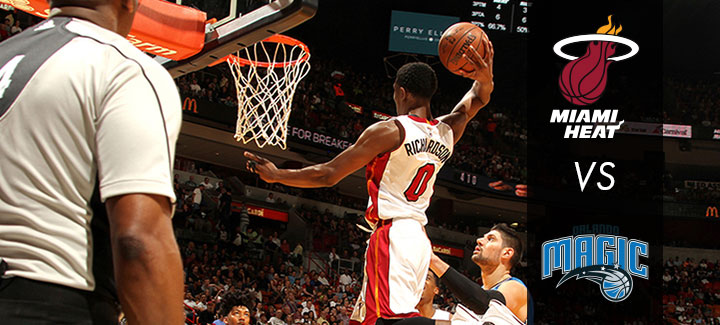 AmericanAirlines Arena Heat vs Magic December 20, 2016