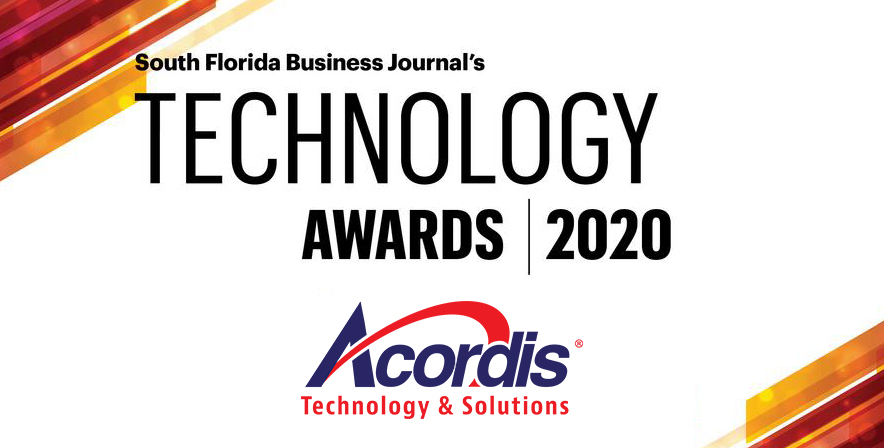 Acordis Technology & Solutions Among SFBJ Fastest Growing Technology List 2020